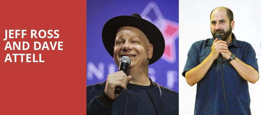 Jeff Ross and Dave Attell, Revention Music Center, Houston