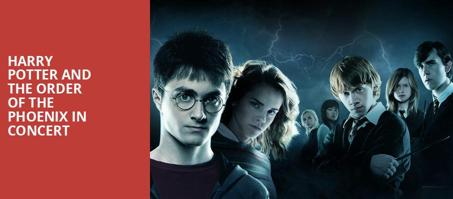 Harry Potter and the Order of the Phoenix in Concert, Jones Hall for the Performing Arts, Houston