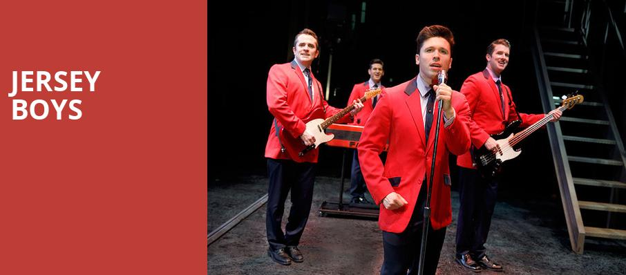 Jersey Boys, Sarofim Hall, Houston