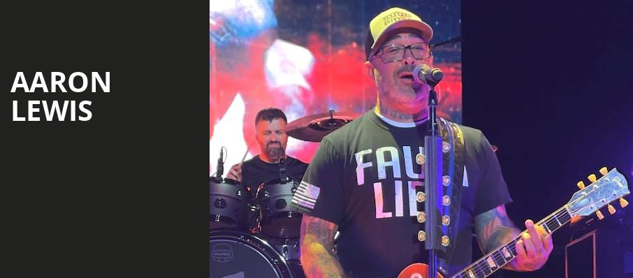 Aaron Lewis, Revention Music Center, Houston