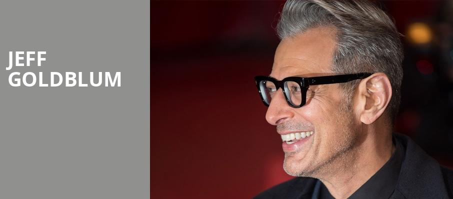 Jeff Goldblum, Jones Hall for the Performing Arts, Houston