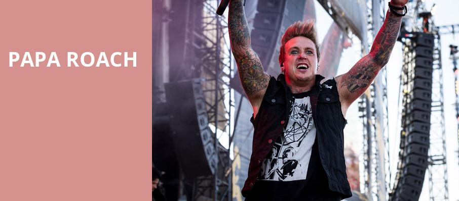 Papa Roach, Smart Financial Center, Houston