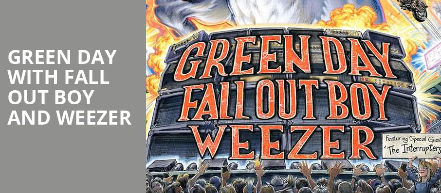 Green Day with Fall Out Boy and Weezer, Minute Maid Park, Houston
