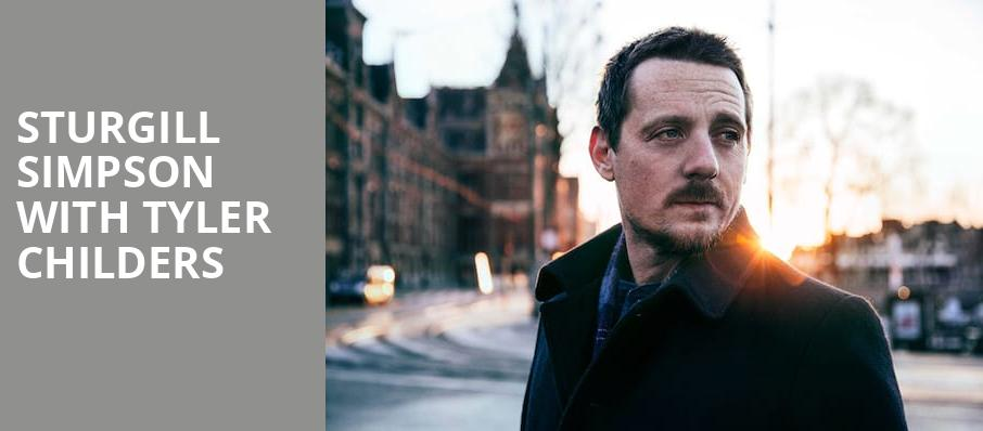 Sturgill Simpson With Tyler Childers, Smart Financial Center, Houston