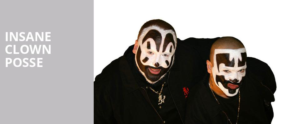 Insane Clown Posse, Ballroom at Warehouse Live, Houston