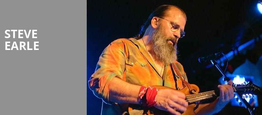 Steve Earle, The Heights, Houston