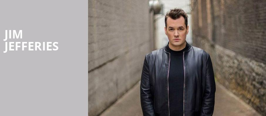 Jim Jefferies, Cullen Performance Hall, Houston