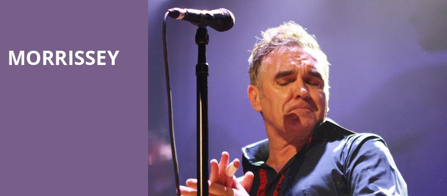 Morrissey, White Oak Music Hall, Houston