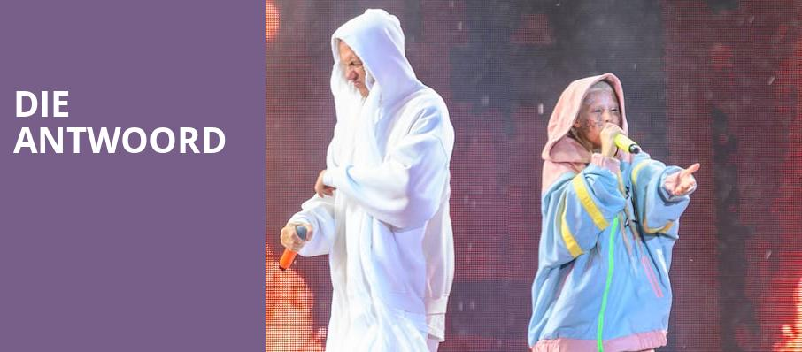 Die Antwoord, Revention Music Center, Houston