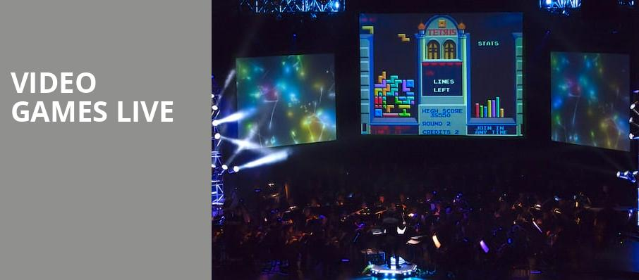 Video Games Live, Jones Hall for the Performing Arts, Houston