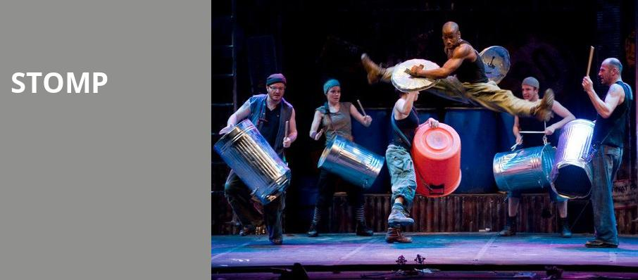 Stomp, Jones Hall for the Performing Arts, Houston