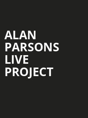 Alan Parsons Live Project Poster
