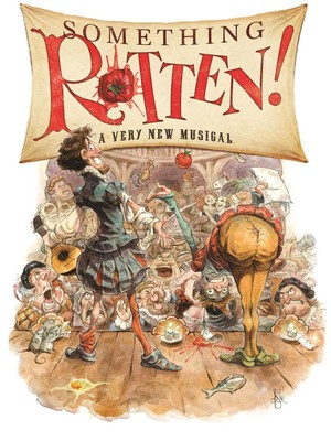 Something Rotten, Sarofim Hall, Houston