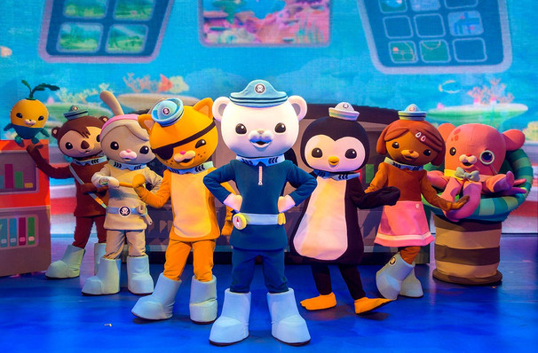 Dates announced for Octonauts Live